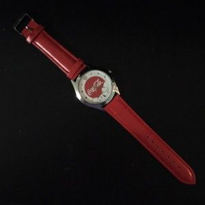 Coca-Cola winter themed watch